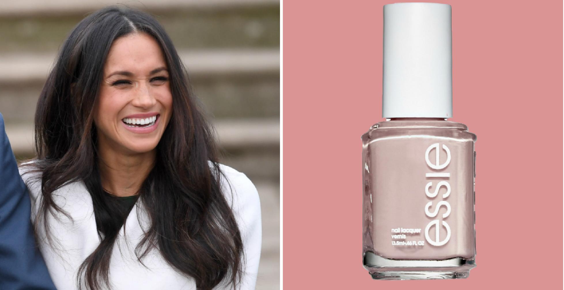 Did Meghan Markle's New Nail Polish Color Break Royal BeautyProtocol