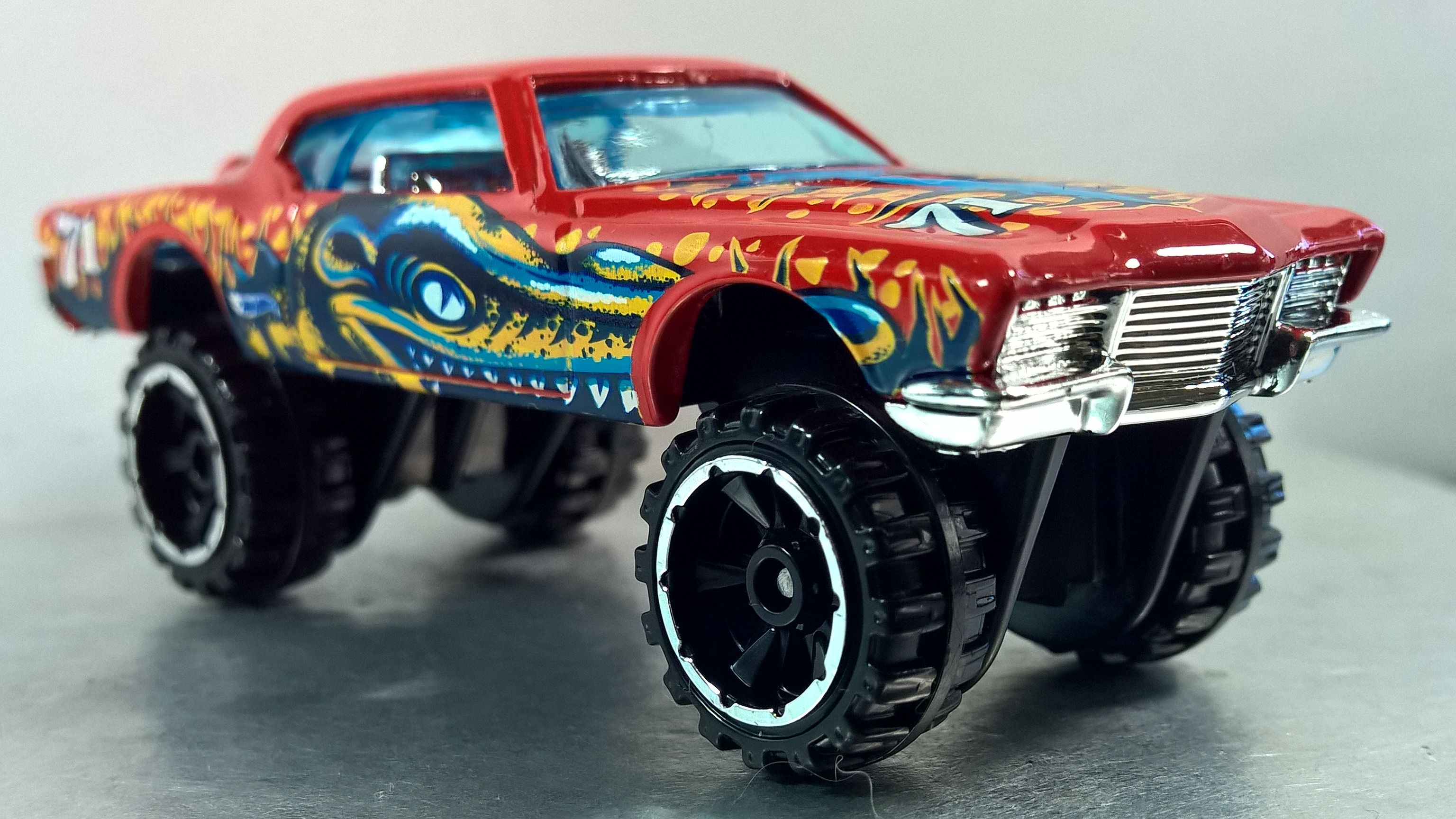 '71 RIVIERA Thrill Racers Prehistoric 1/5 2012 8 Hot