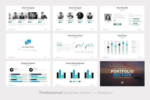 Business Plan Powerpoint Template Business planning, Template and - professional business plan
