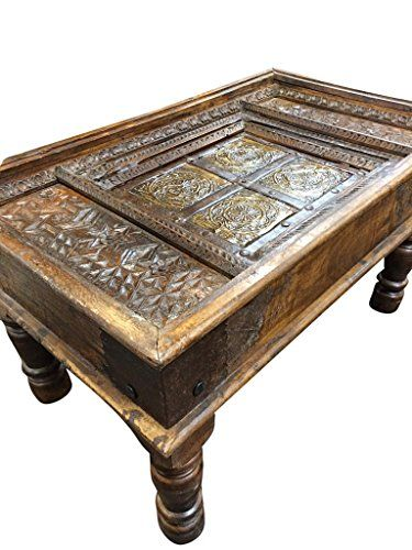 Jaipur Furniture Castle Traditional Antique Old Door Coffee Table India  Furniture Mogul Interior Http://www.amazon.com/dp/B00QI5GCVM/refu003d ...