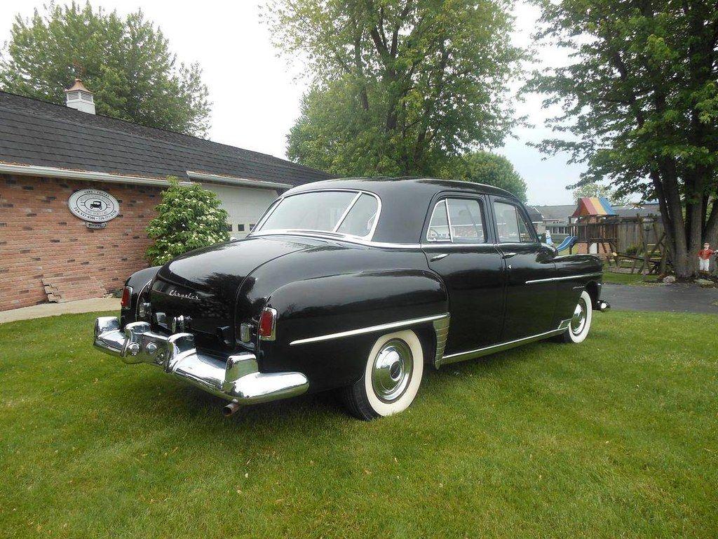 1950 Chrysler Windsor 4 Door Sedan Chrysler Windsor Chrysler Chrysler Cars