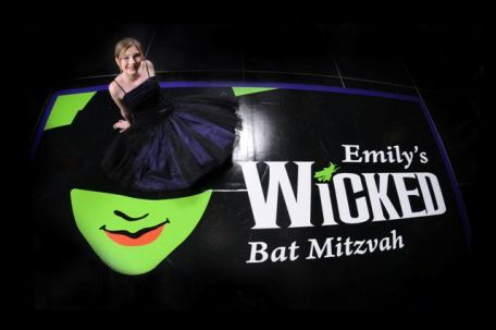 Dance Floor Covering For A Wicked Bat Mitzvah