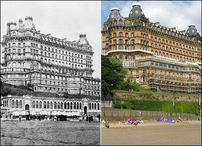 Grand Hotel, Scarborough © English Heritage | Before and After in