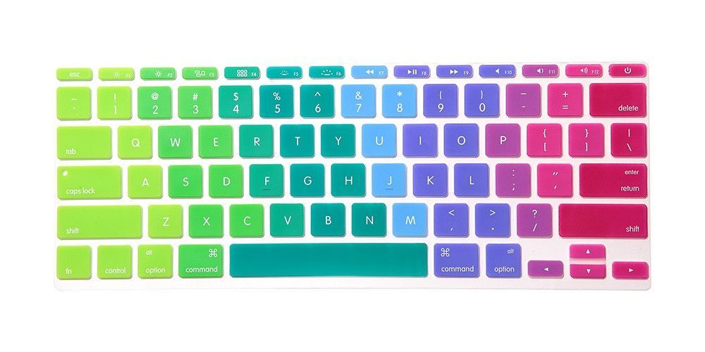 """Letter Sticker Protector Film For Apple MacBook Air Pro Retina 13/"""" 15/"""" 17/"""""""