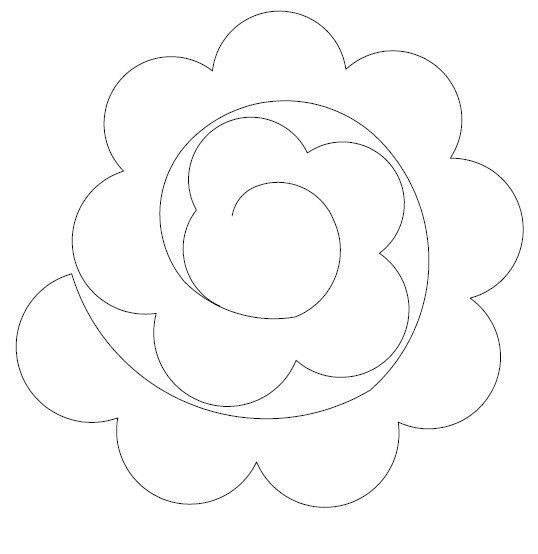 Flower template flowers pinterest template flower and flowers mightylinksfo