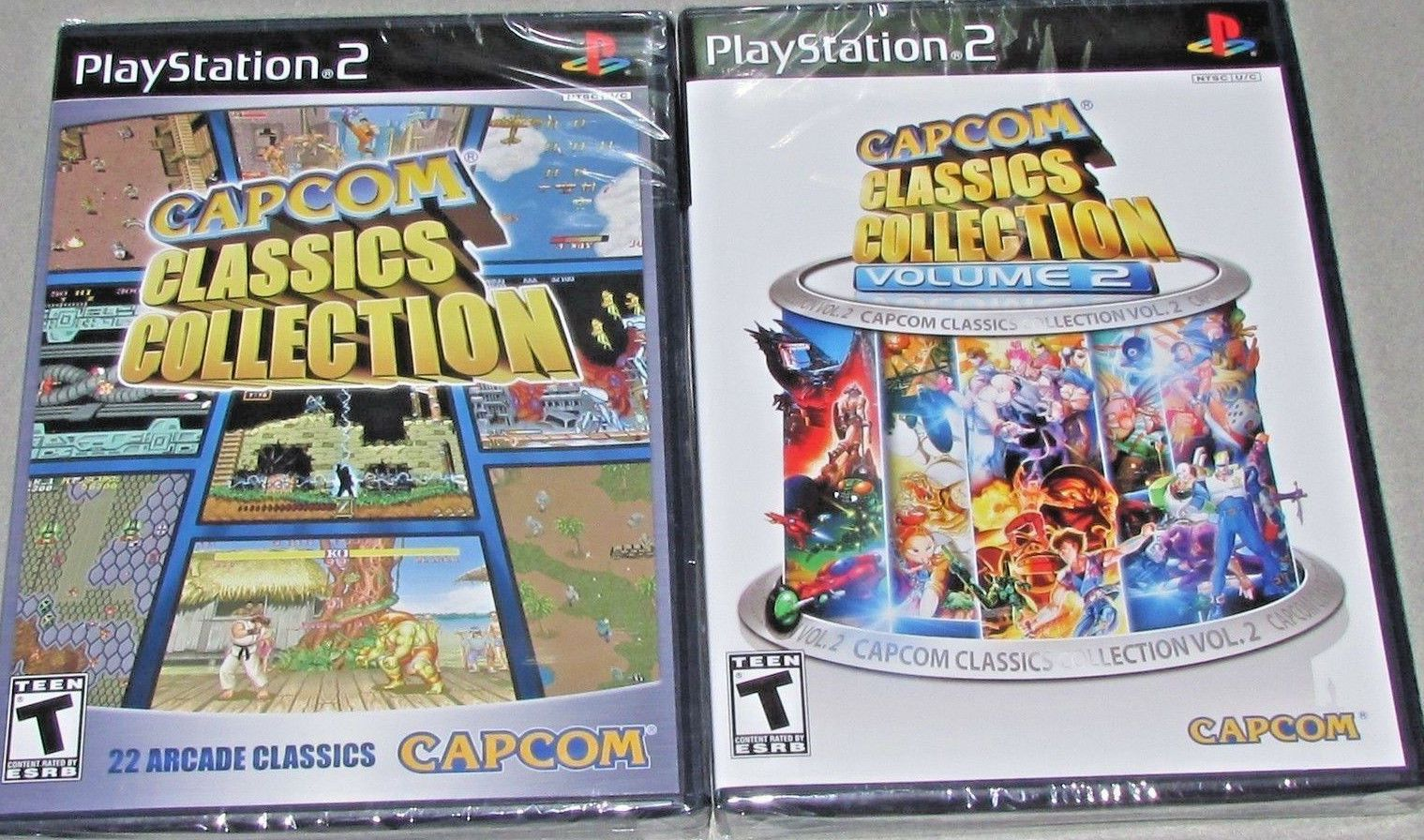 Classics Collection Vol. 1 & 2 Bundle Playstation 2