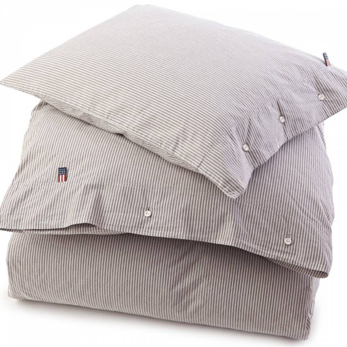 Lexington Bettwäsche Country Washed Popelin Gestreift Grau Lexington Bettwäsche Bettwäsche Bett