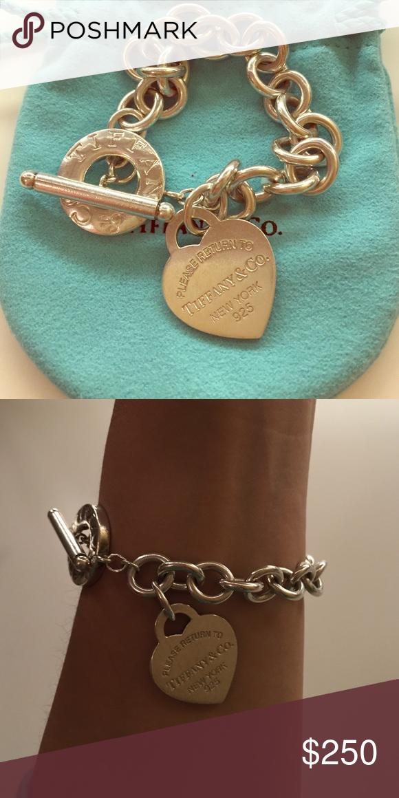 6b9da713b Authentic Tiffany & Co heart tag toggle bracelet Lightly worn return to Tiffany  heart toggle bracelet Tiffany & Co. Jewelry Bracelets