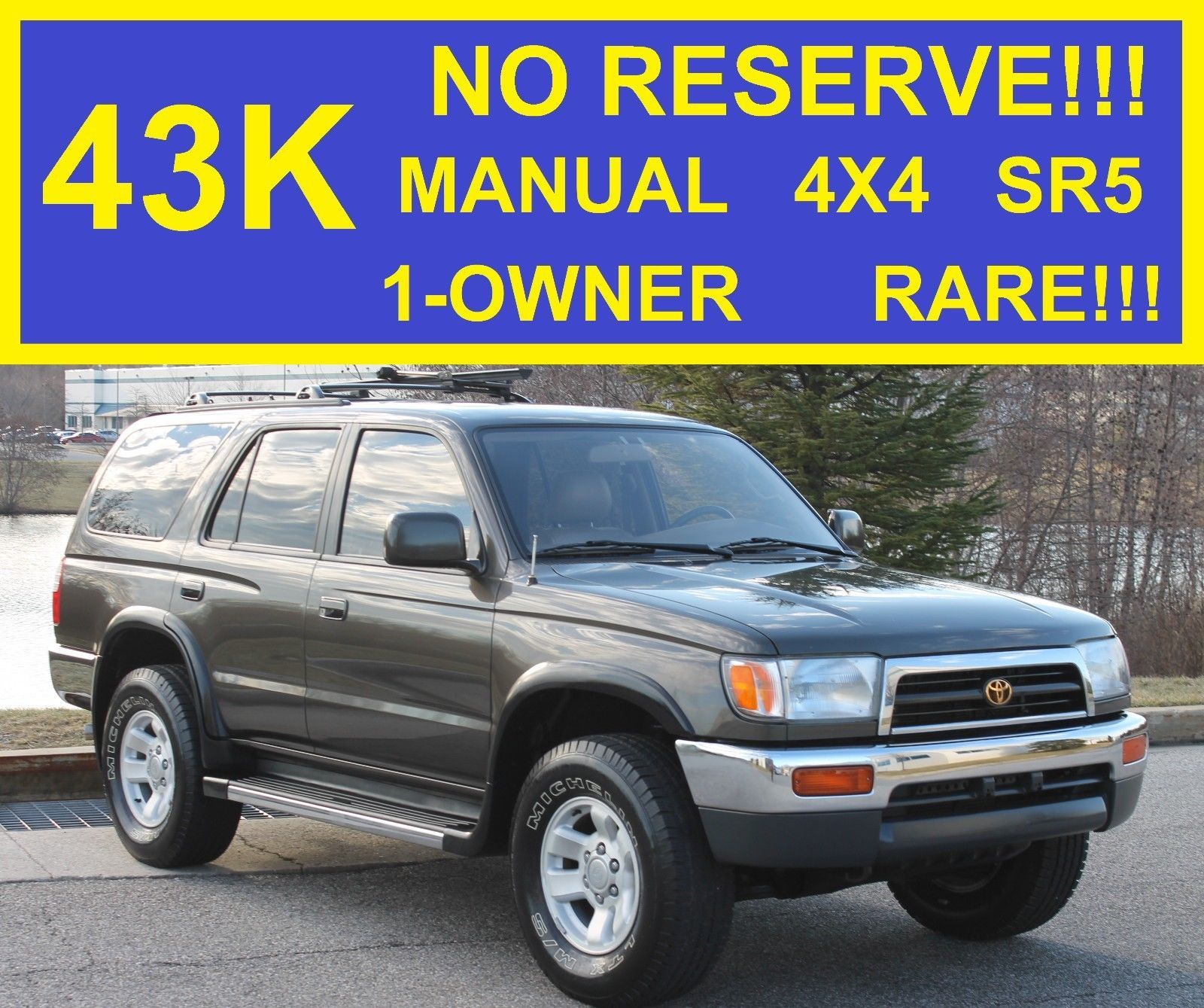 1998 toyota 4runner no reserve 43k miles 5 speed 1 owner pinterest rh pinterest com 1998 toyota 4runner owners manual online 1998 toyota 4runner service manual pdf
