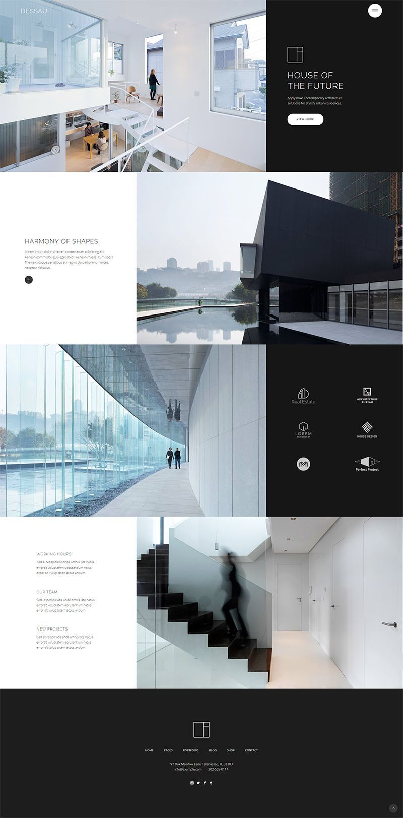 Dessau Contemporary Theme for Architects and Interior