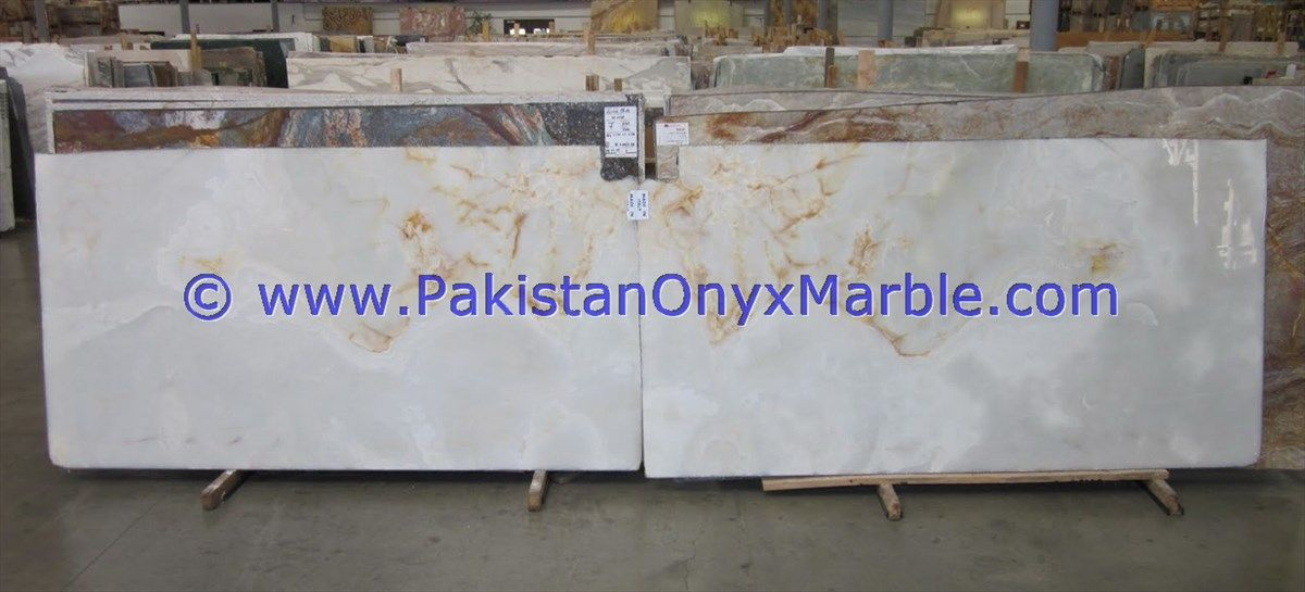 Afghan White Onyx Slabs Snow White Onyx Slabs Pure White Onyx