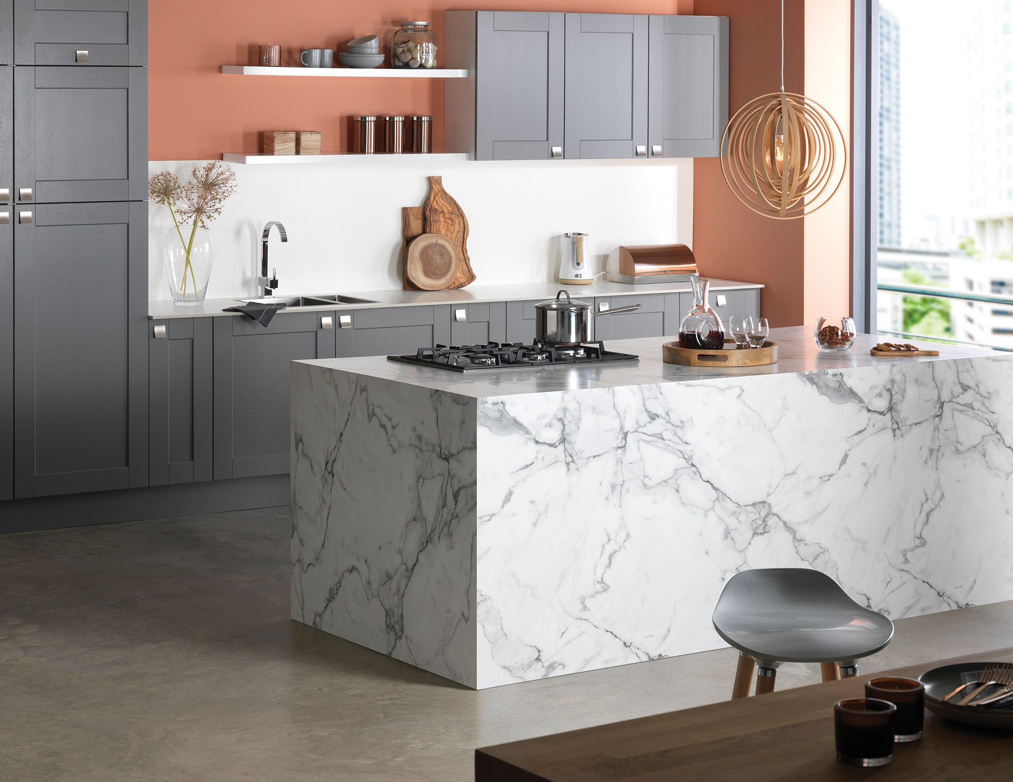 Aria Worktops Designed to provide a sleek and