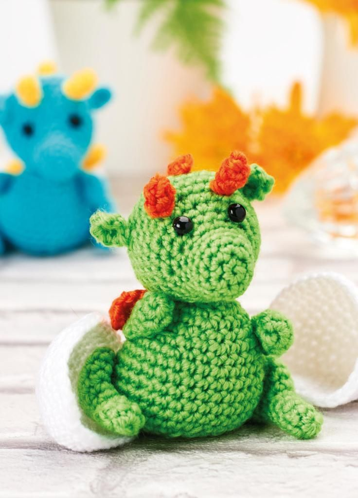 Hatching Dragons Crochet Pattern | free pattern crochet | Pinterest ...