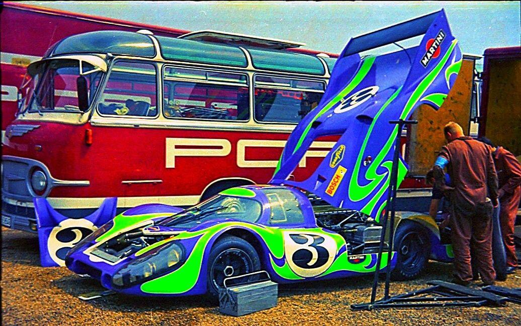 Martini Porsche Paddock Le Mans 1970 The 1970 Le Mans 24 Hours