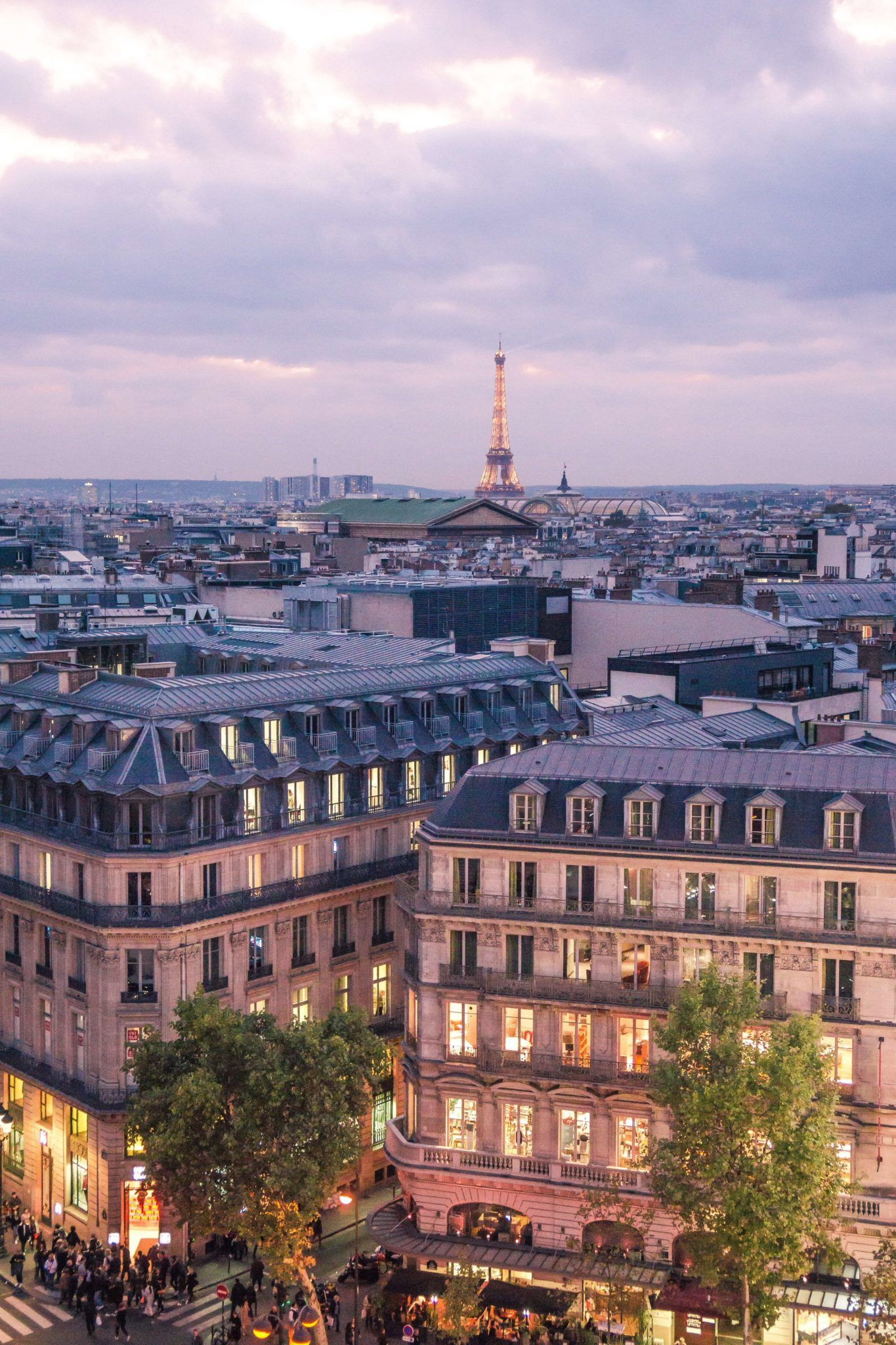 Galeries Lafayette Rooftop Terrace A View Over Paris Solosophie Paris Rooftops Paris Rooftop Terrace