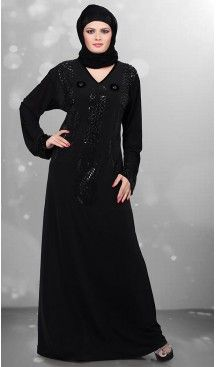 579a2c620c64 Black Color Lycra Islamic Burqa Hijab and Abaya Collection Online |  FH435869074 #trendy, #