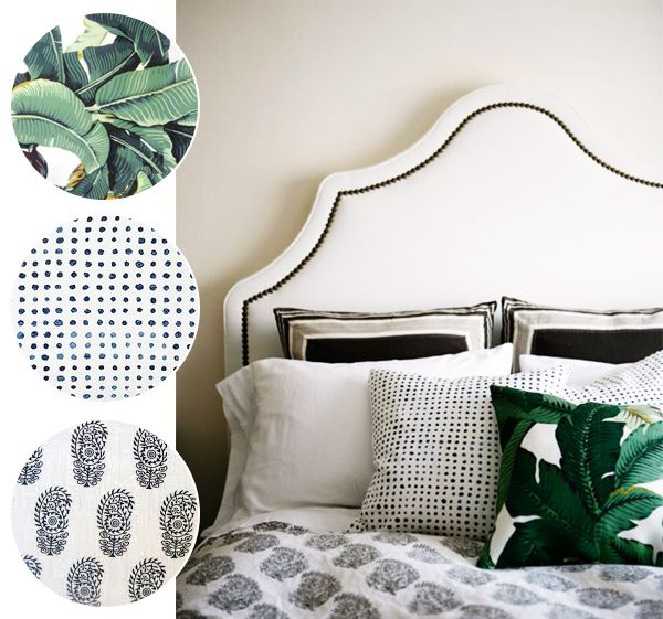 PRINT + PATTERN :: 5 WAYS TO STYLE BANANA LEAF PRINTS - coco kelley