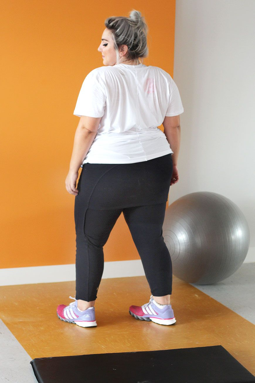37f3cea2d Roupas de ginástica plus size  porque a gente pode ser uma gorda fitness!