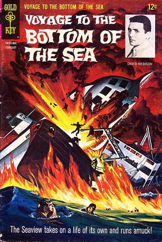 Voyage To The Bottom Of The Sea Comic Book