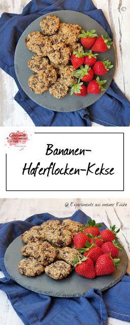Bananen-Haferflocken-Kekse #kuchenkekse