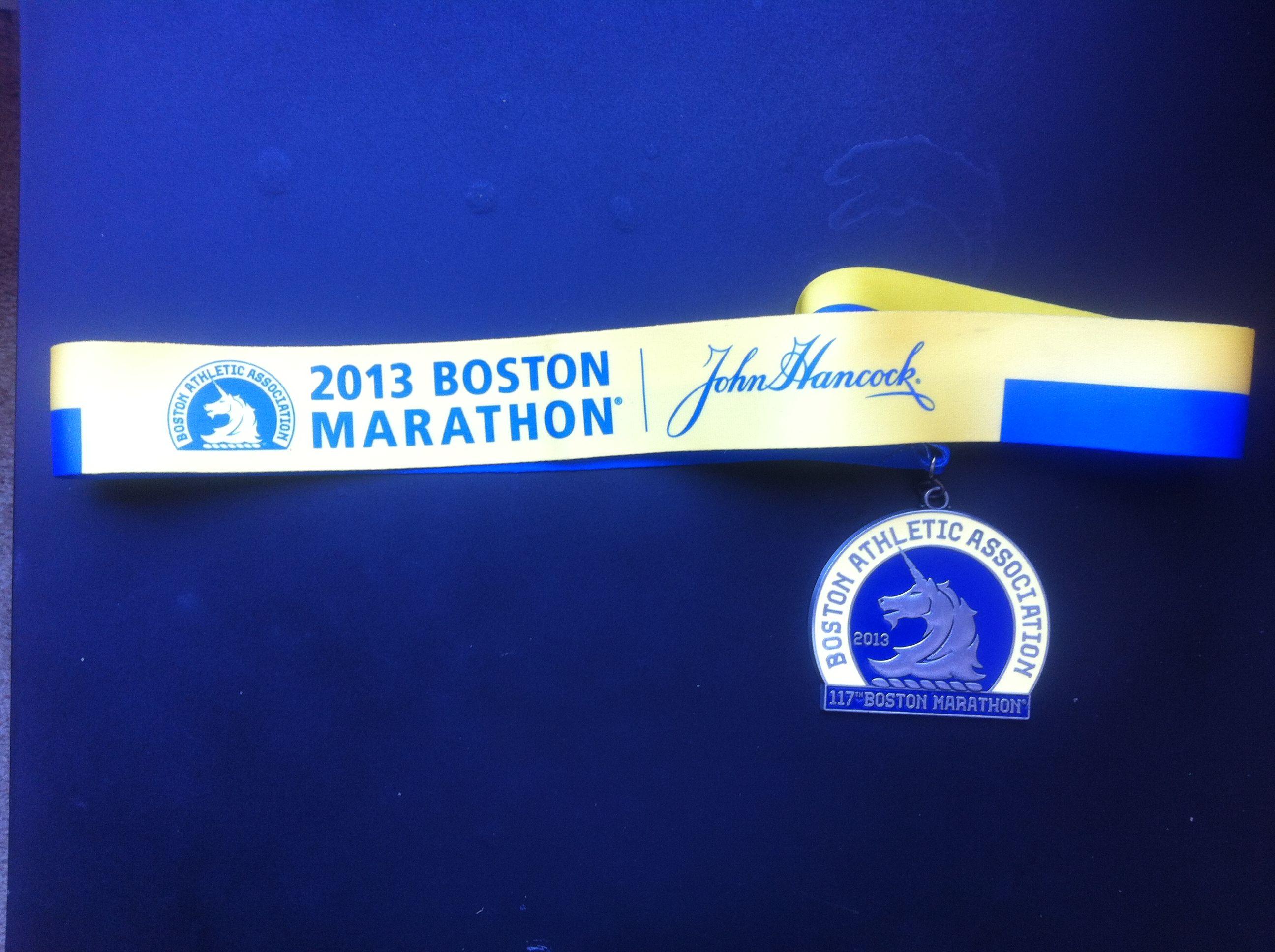 I was there one for boston boston marathon john