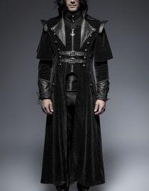 Hommes Steampunk Van Helsing Manteau Gothique Manteau