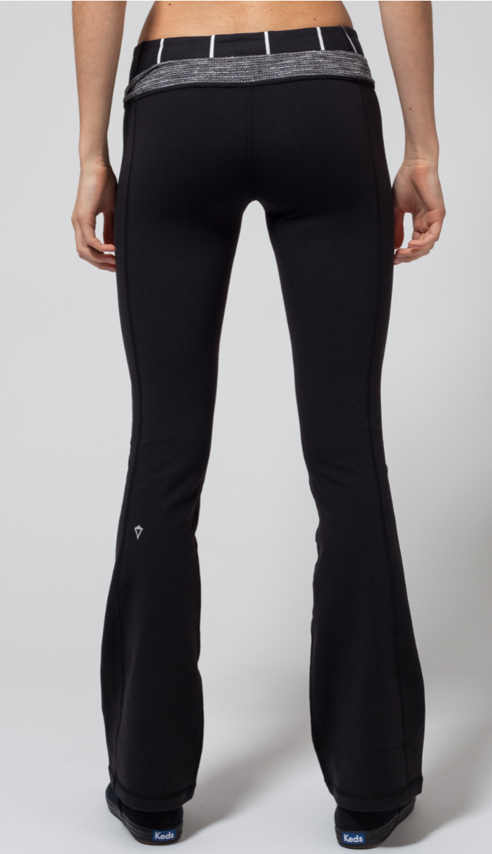 cdfdf4357 from dance class to the classroom these slim flare reversible pants will  take you through your day with ease.
