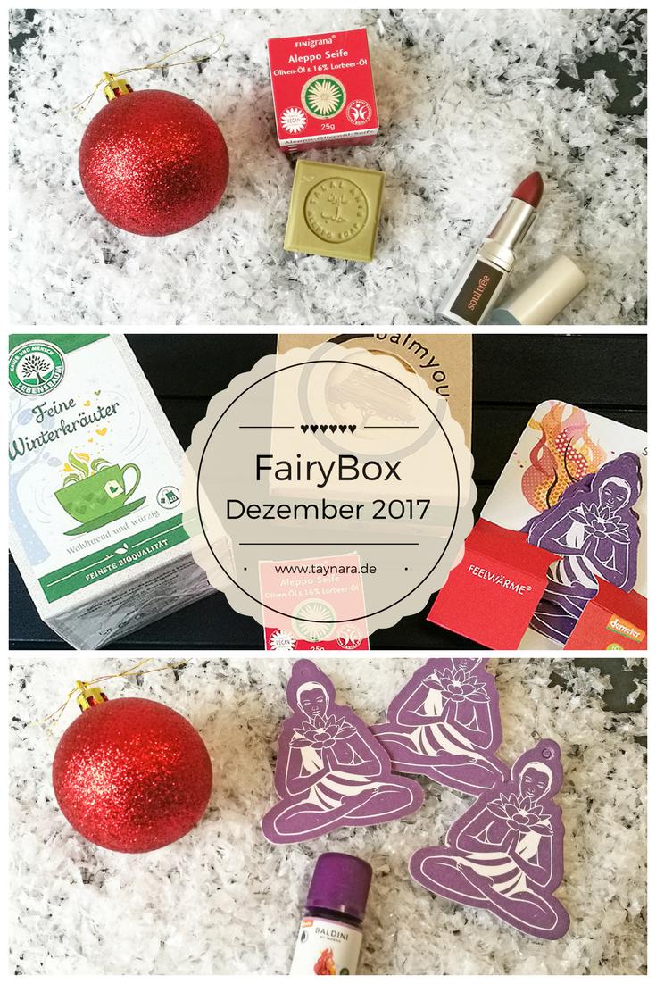 Unboxing der Fairybox Dezember 2017 - Naturkosmetik