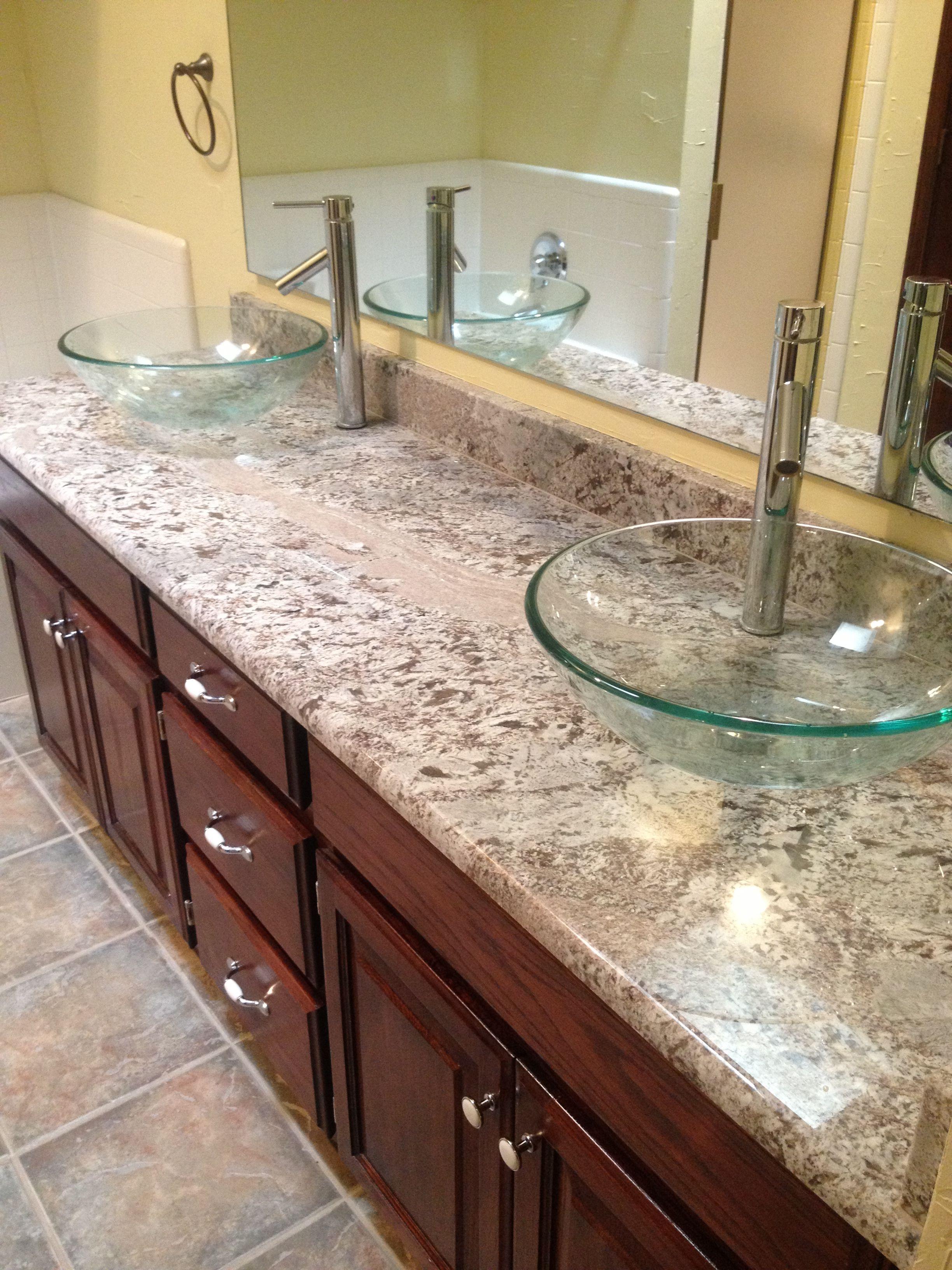 Bathroom Countertop Sinks Amp Faucets Idea
