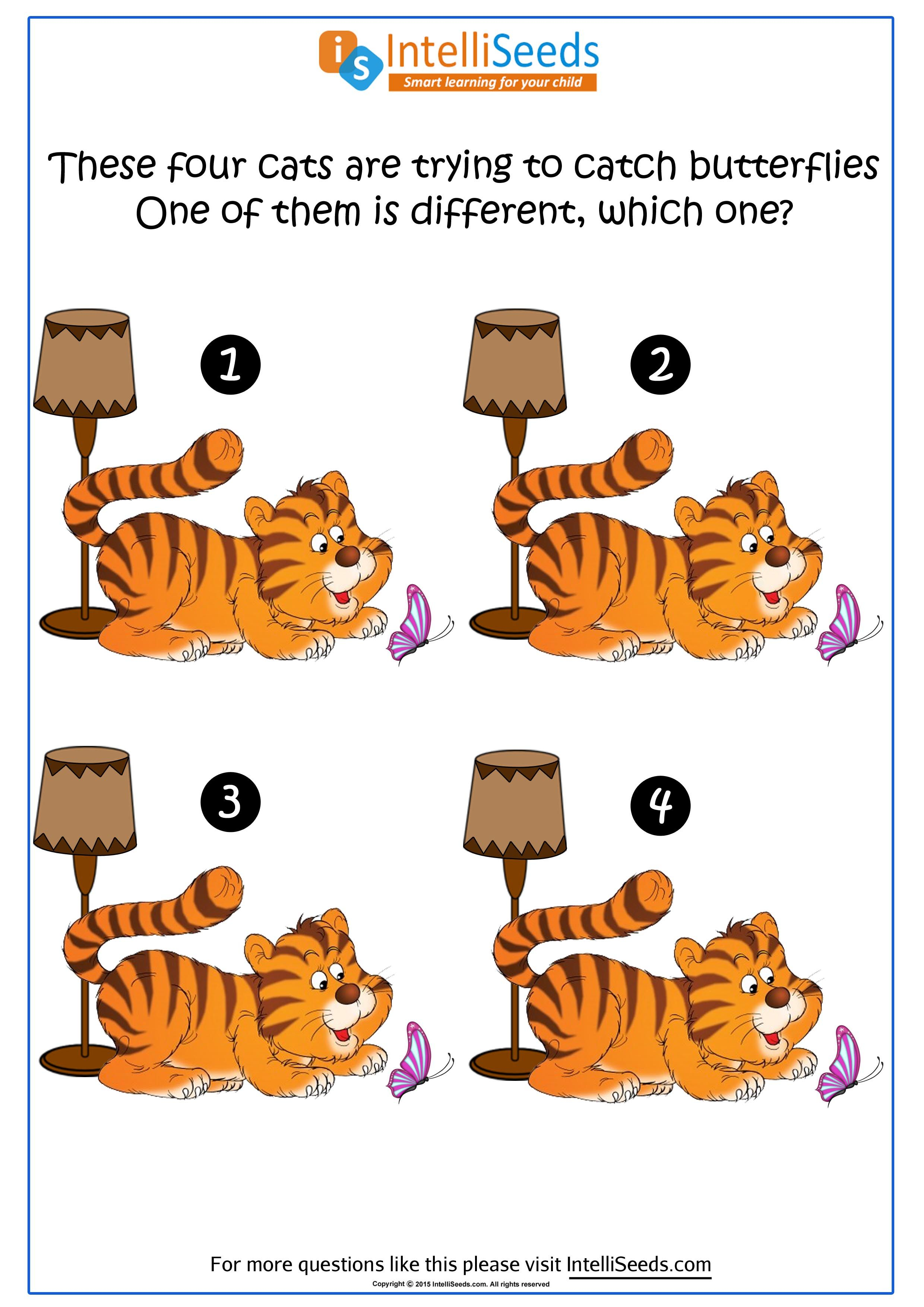 Pin By Intelliseeds Learning On Thinking Skills Worksheets