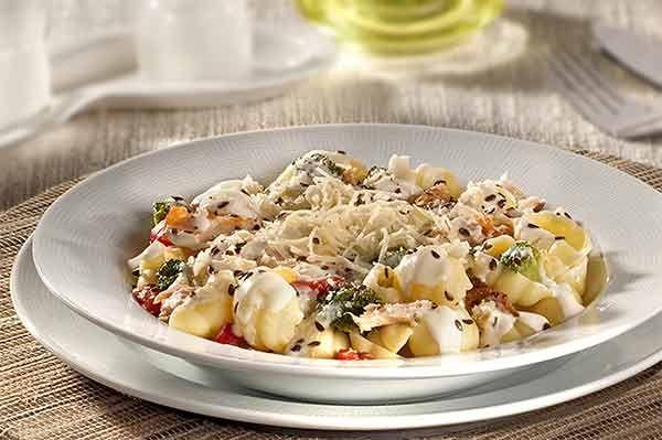 Delicioso Gnocchi ao Molho de Nata com Salmão e Linhaça | Receitas e Dicas do Chef