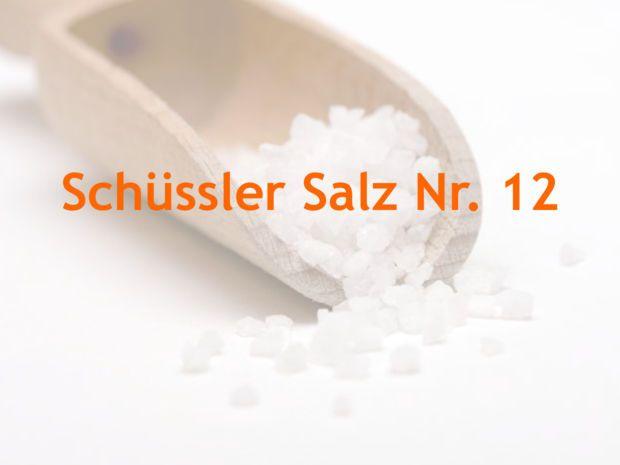 Die 12 Schüssler Salze - die Basissalze im Überblick..