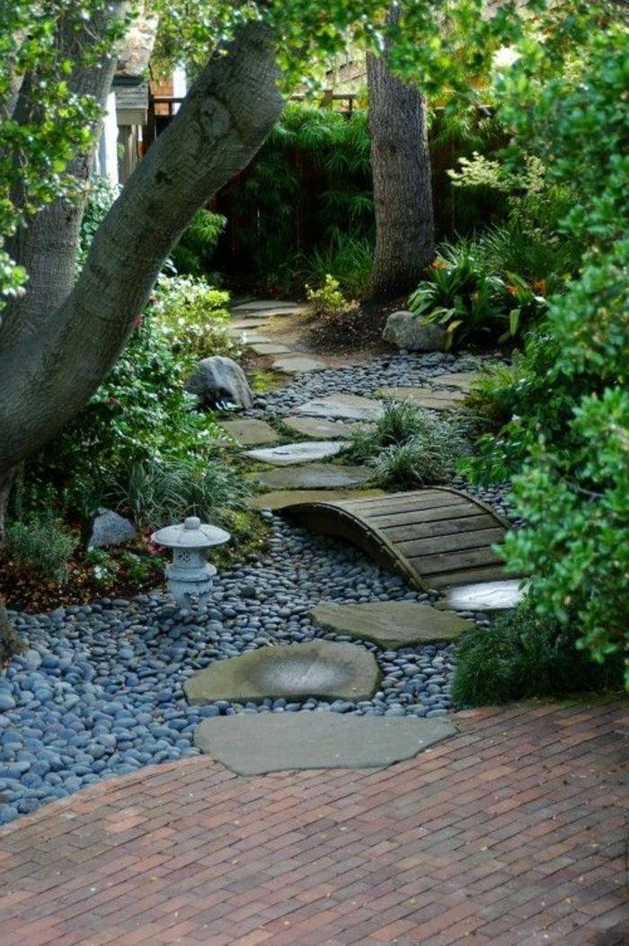 Faire Une Allée De Jardin, Cailloux Decoratifs Pour Décorer Le Jardin  Paradisiaque