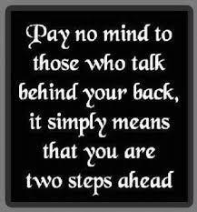 So keep walking