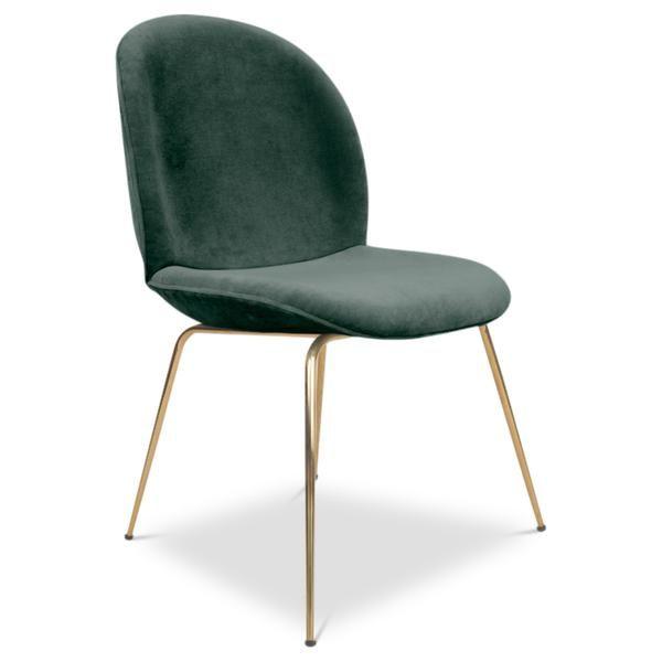 Amalfi Dining Chair In Velvet Dining Chairs Velvet Dining