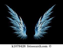 Blue Angel Wings Angel Wings Illustration Angel Wings Drawing Angel Wings Background