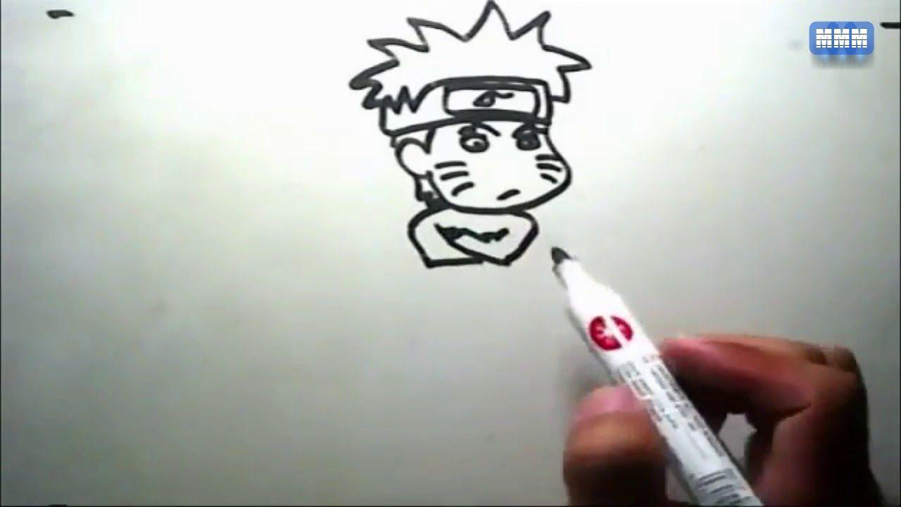 Cara Menggamar Tokoh Anime Naruto Dengan Mudah Dan Simple Hd