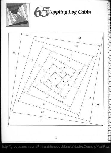 101 LogCabinBlocks - Aderita Rubio - Picasa-Webalben
