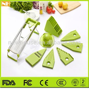 Creative kitchen ware stainless steel V-shaped grater