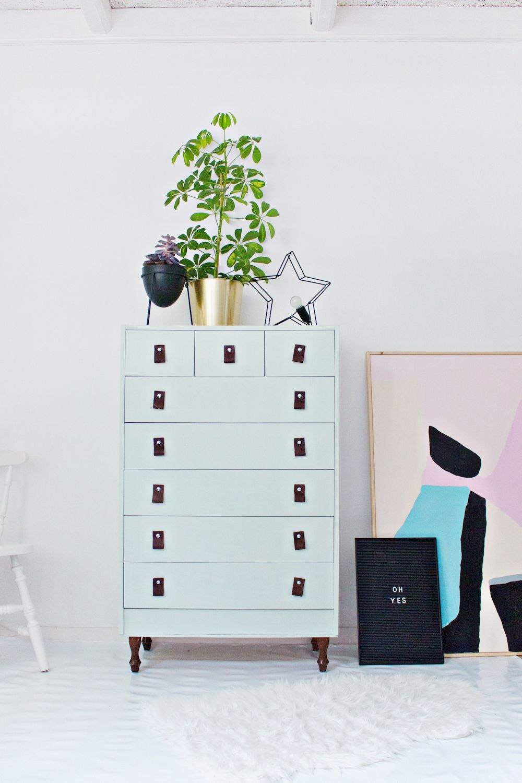 How to Restyle a Plain Dresser DIY