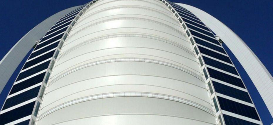 Fiberglass Exterior Cladding : Gypsum plaster architectural fabric fiberglass ptfe