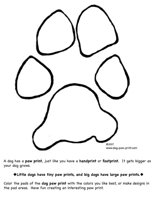 Dog Paws Coloring Pages Coloring Pages To Print Coloring Pages Dog Paw Print