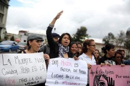 Preocupación en Guatemala por alarmante violencia contra mujeres - La Prensa de Honduras