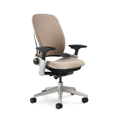 office chair upholstery. Steelcase Leap® Desk Chair Upholstery: Connect - Malt, Casters: Standard Carpet Caster Office Upholstery S