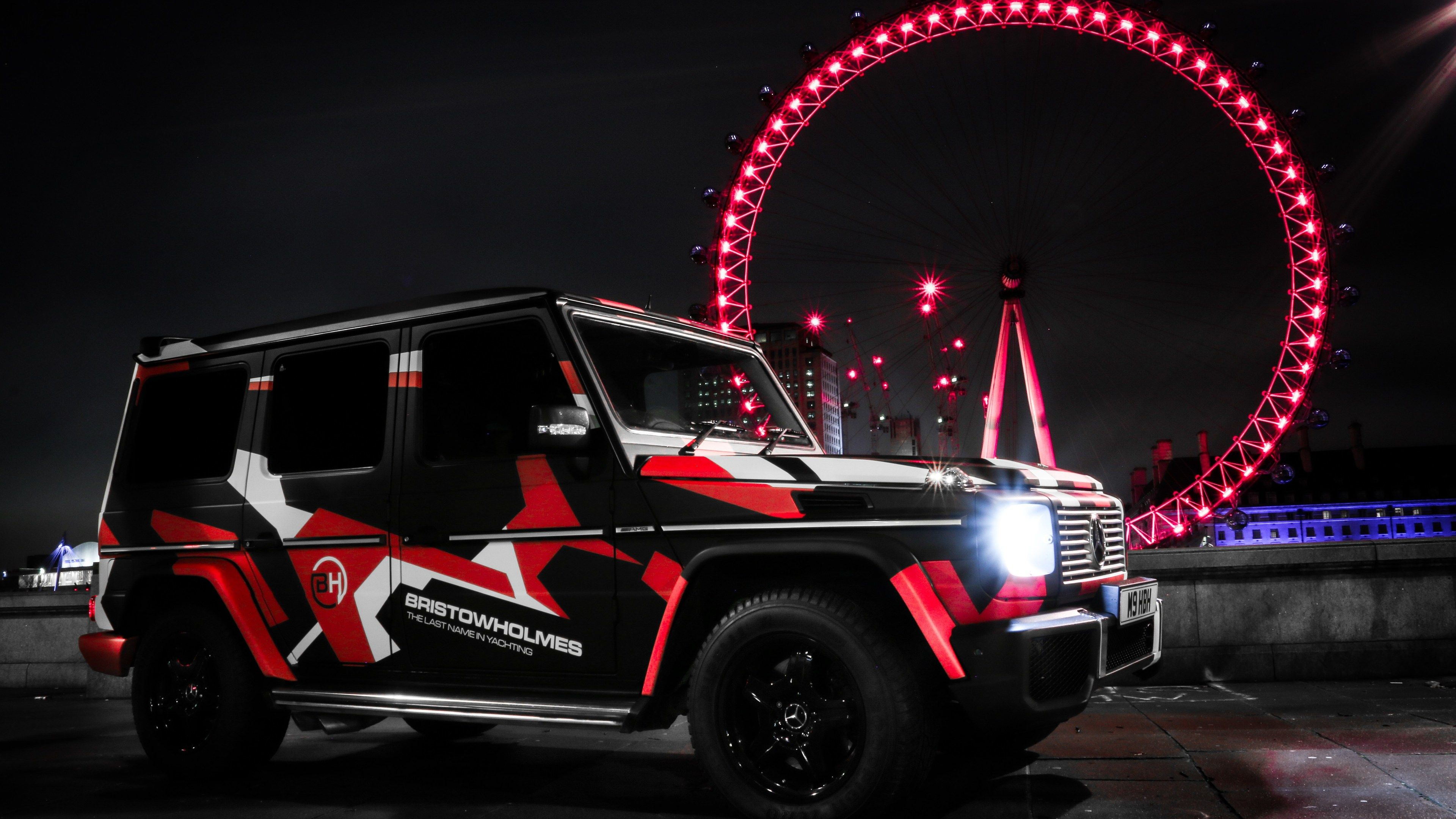 Wallpaper 4k Custom Mercedes G Wagon London Eye 4k 4k Wallpapers