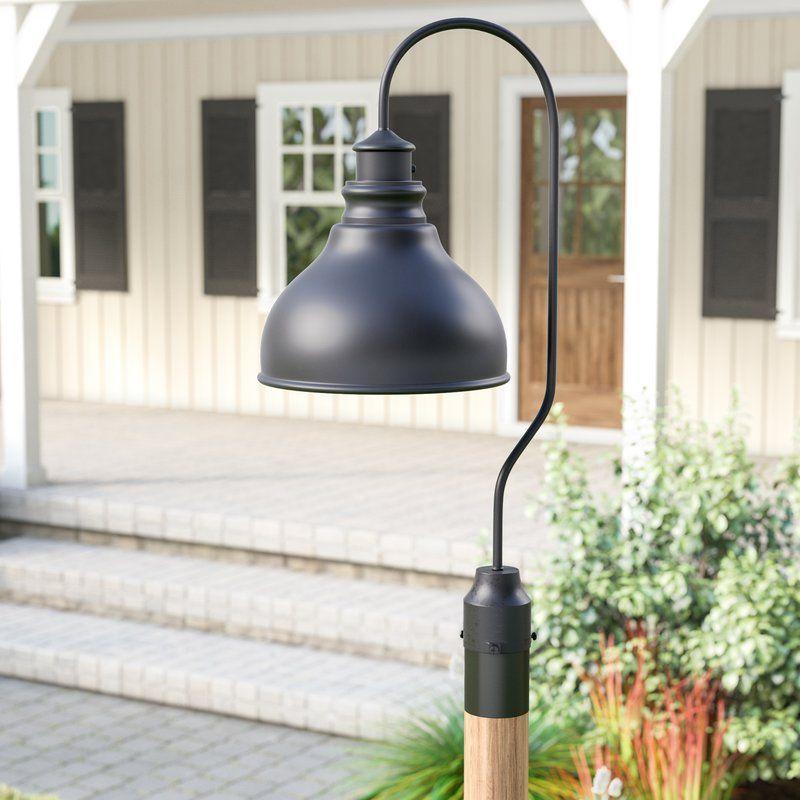 Lavardin 1 Light Lantern Head Modern Farmhouse Lighting Outdoor Barn Lighting Lamp Post Lights