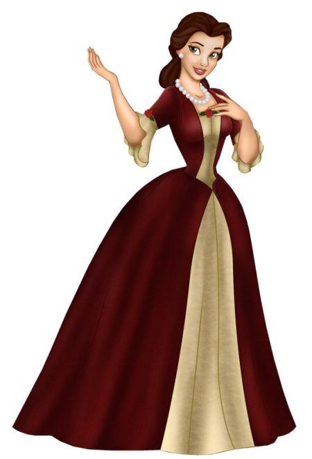 Disney's Beauty Beast Princess Belle Clipart > Disney-Clipart.com