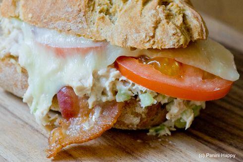 bacon tuna melt, add avacado, mix tuna with ranch instead of mayo ;-)