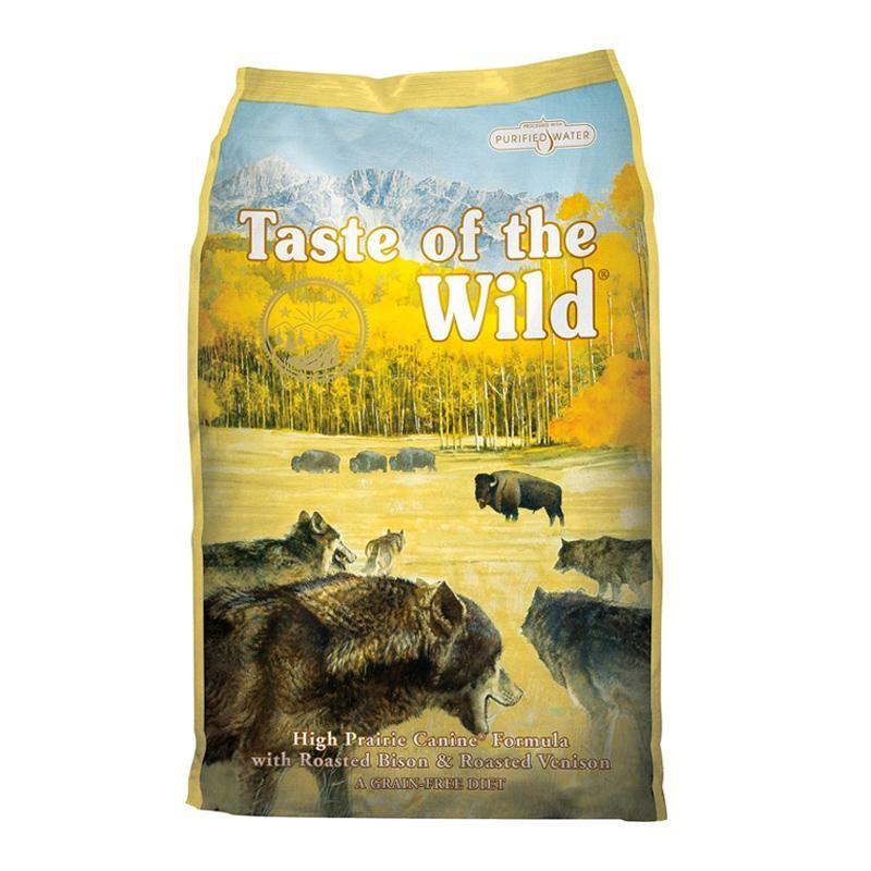 Taste of the wild high prairie best dry dog food dog
