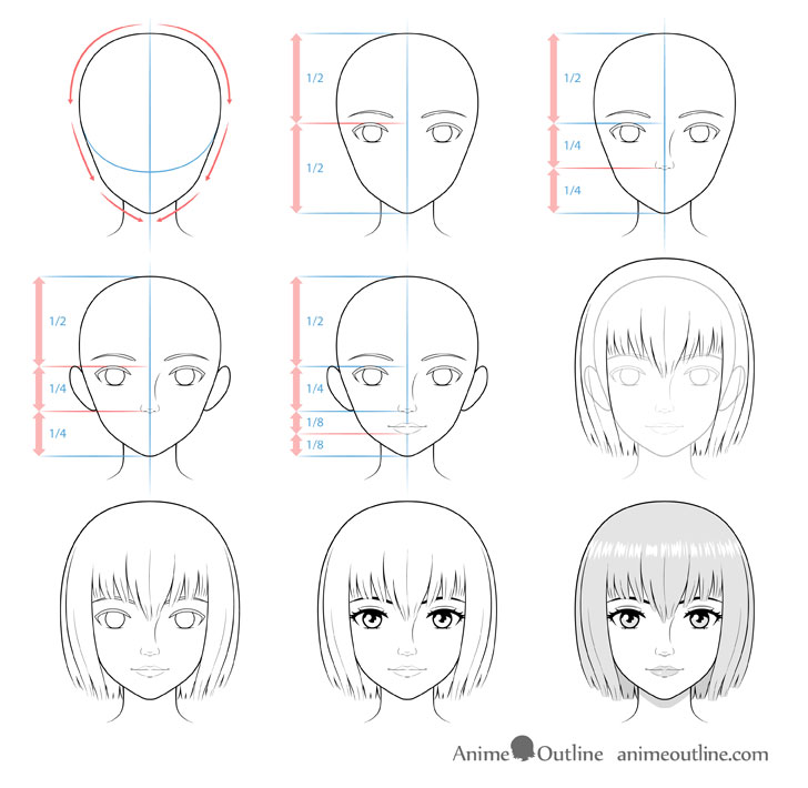 Pin by Renee on Anime tings in 2020 Anime face drawing